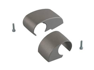 Комплект крышек для DOMINA HP COVER (2 штуки) серебро, межосевое 62,5 мм Изображение