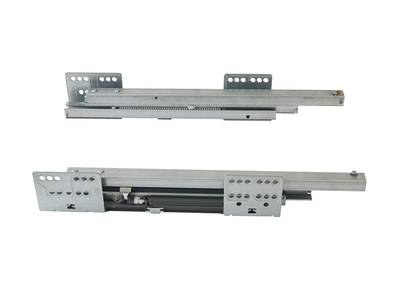 Комплект направляющих 300мм (левая, правая) для ящика Firmax Newline, серый Изображение 3