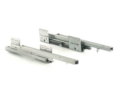 Комплект направляющих 400мм (левая, правая) для ящика Firmax Newline, серый Изображение