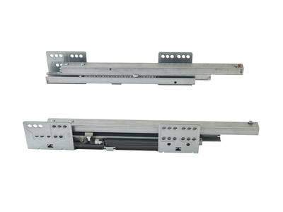 Комплект направляющих 400мм (левая, правая) для ящика Firmax Newline, серый Изображение 3