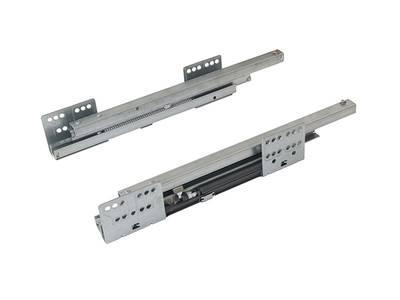 Комплект направляющих 400мм (левая, правая) для ящика Firmax Newline, серый Изображение 2