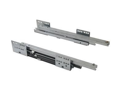 Комплект направляющих 400мм (левая, правая) для ящика Firmax Newline, серый Изображение 4