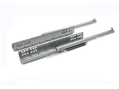 Комплект направляющих скрытого монтажа Firmax Ecomotion L=350мм, частичного выдвижения с доводчиком, для ЛДСП 16мм Изображение