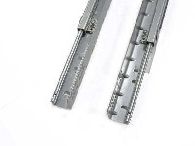 Комплект направляющих скрытого монтажа Firmax Ecomotion L=300мм, частичного выдвижения с доводчиком, для ЛДСП 16мм Изображение 3