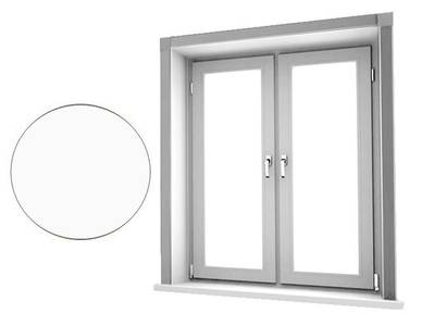 Комплект откосов оконных QUNELL (300х1500х1500 мм, белый) Изображение 2