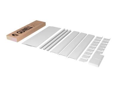 Комплект откосов дверных QUNELL (400х2200х1000 мм, белый) Изображение