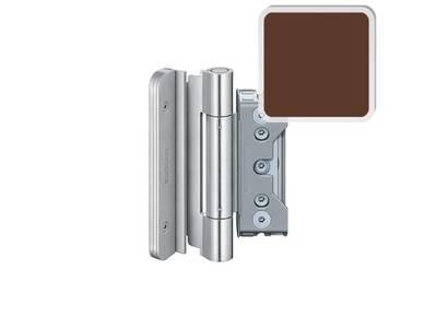 Комплект петель SIMONSWERK для дверей 3 шт. до 160 кг. коричневые модель 4030 с противовзломным штифтом Изображение