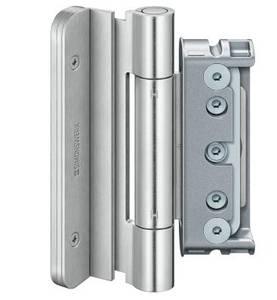 Комплект петель для дверей 3 шт. до 160 кг. оцинкованный Изображение
