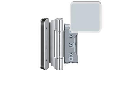 Комплект петель SIMONSWERK для дверей 3 шт. до 160 кг. оцинкованные модель 4010 с противовзломным штифтом Изображение