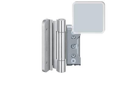 Комплект петель SIMONSWERK для дверей 3 шт. до 160 кг. оцинкованные модель 4030 с противовзломным штифтом Изображение