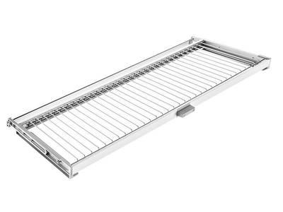 Комплект посудосушителя для тарелок/чашек в базу 900мм(для плиты 16мм), с алюминиевой рамой и пласт. поддоном, регулировка по глубине, Vibo Изображение 2