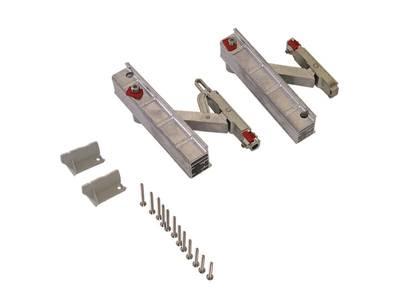 Комплект роликов Giesse GS1000-ML, 160 кг, левый, 09777000 Изображение