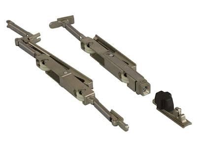 Комплект роликов L/S с угловым переключателем для двери 200 кг GOS-S, 0391300001 Изображение