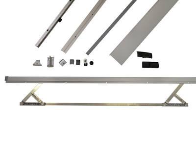 Комплект шин Patio 100/160S 901-1050мм/2230мм, серебро Изображение