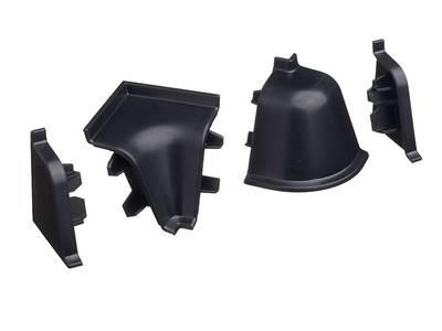 Комплект соединителей к бортику 118 / SB 135 98104 черный Изображение