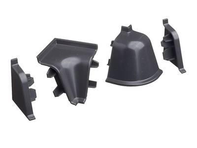 Комплект соединителей к бортику 118 / SB 135 98151 серый Изображение