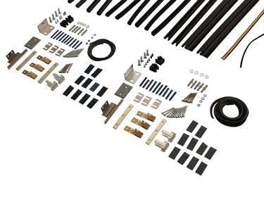 Комплект створок FLEX для двустворчатой двери 1500(Ш)х2500(В) мм (часть для сборки) Изображение 3