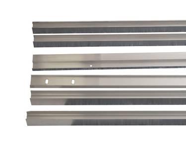 Комплект створок FLEX для одностворчатой двери 1500(Ш)x2500(В) мм (часть для покраски, необходима комплектация артикулом DOR2076B), для заполнений - стекло, 8 мм, стеклопакет 22 мм, без стекла, 8020218) Изображение 2