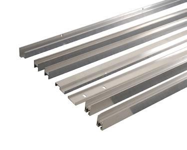 Комплект створок FLEX для одностворчатой двери 1500(Ш)x2500(В) мм (часть для покраски, необходима комплектация артикулом DOR2076B), для заполнений - стекло, 8 мм, стеклопакет 22 мм, без стекла, 8020218) Изображение