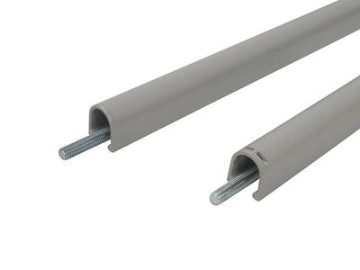 Запоры для ручки антипаника, 2 точки запирания вертикальные, серебро Изображение 8