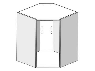 Корпус навесной угловой 61*61*72 Изображение 3