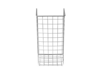 Корзина для белья откидная, ш=340мм, в=525мм, г=230мм, металлик серебристый FIRMAX Изображение 2