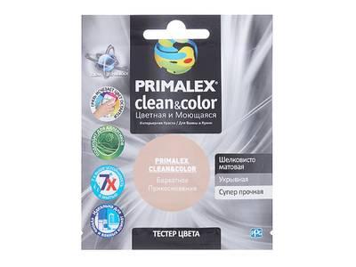 Краска  Primalex Clean&Color Бархатное Прикосновение 40мл Изображение