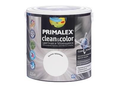Краска  Primalex Clean&Color Белое кружево 2,5л Изображение