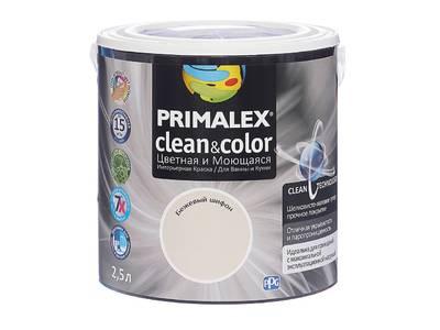 Краска  Primalex Clean&Color Бежевый Шифон 2,5л Изображение