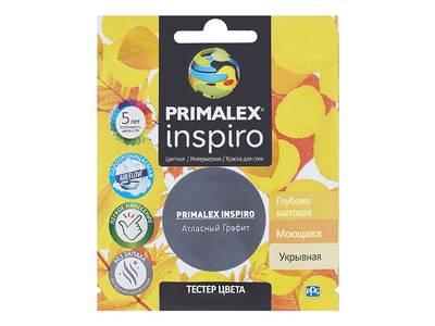Краска Primalex Inspiro Атласный Графит 40мл Изображение