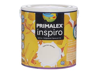 Краска Primalex Inspiro Цветок Вишни 2,5л Изображение