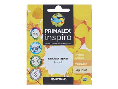 Краска Primalex Inspiro Голубой 40мл Изображение