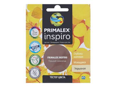 Краска Primalex Inspiro Горький Шоколад 40мл Изображение