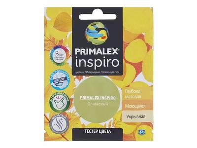 Краска Primalex Inspiro Оливковый 40мл Изображение