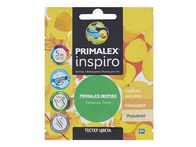 Краска Primalex Inspiro Зеленое Лето 40мл Изображение