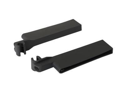 Крепления поперечного разделителя к релингу для ящика Firmax, серый Изображение 3