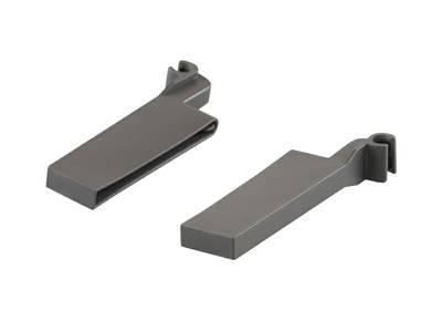 Крепления поперечного разделителя к релингу для ящика Firmax, серый Изображение