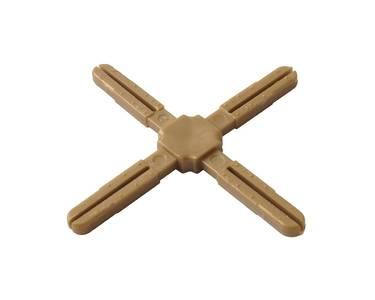 Крест пластиковый с декоративной центральной частью Germanella золото Изображение