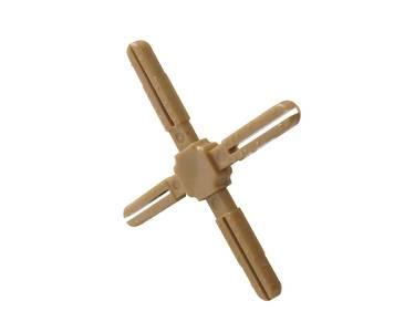 Крест пластиковый с декоративной центральной частью Germanella золото Изображение 3