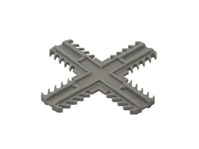 Соединение крестовое под накладку Helima 26мм Изображение