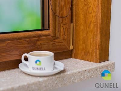 Угловая накладка для оконного наличника Qunell U-81 R 2178 001 зол дуб Изображение 3