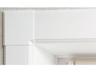 Угловая накладка для оконного наличника Qunell U-81 белый Изображение 2