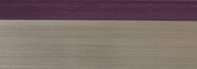 Кромка 3D баклажан глянец 23х1 мм, PMMA, двухцветная ALVIC Изображение