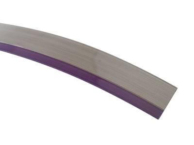 Кромка 3D баклажан глянец 23х1 мм, PMMA, двухцветная ALVIC Изображение 3