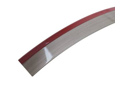 Кромка 3D бордо глянец 23х1 мм, PMMA, двухцветная ALVIC Изображение 2