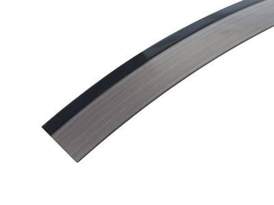 Кромка для ДСП и МДФ плит REHAU (PMMA, 3D, черный глянец, 23х1 мм, двухцветная) Изображение 2