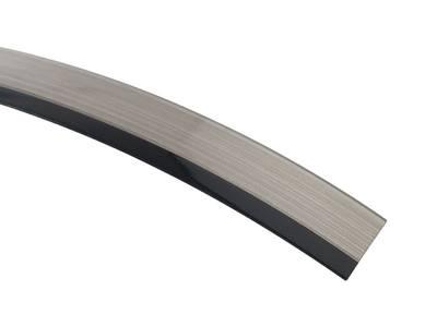 Кромка для ДСП и МДФ плит REHAU (PMMA, 3D, черный глянец, 23х1 мм, двухцветная) Изображение 3