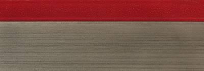 Кромка 3D PMMA 23х1мм, двухцветная глянец красный 2251E Изображение