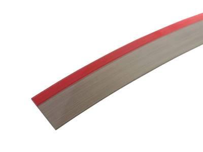 Кромка 3D красный глянец 23х1 мм, PMMA, двухцветная ALVIC Изображение 2