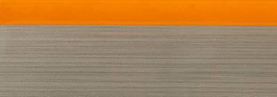 Кромка для ДСП и МДФ плит REHAU (PMMA, 3D, оранжевый глянец, 23х1 мм, двухцветная) Изображение